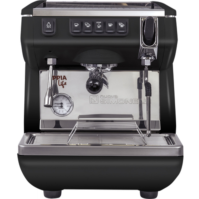 Кофемашина-автомат Nuova Simonelli Appia LIFE 1gr V 220V black+high groups