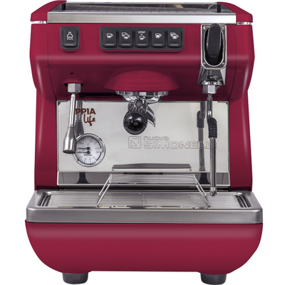 Кофемашина-автомат Nuova Simonelli Appia LIFE 1gr V 220V red+high groups