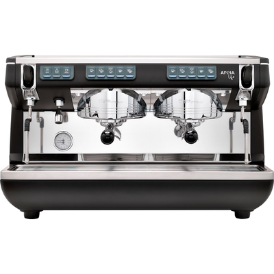 Кофемашина-автомат Nuova Simonelli Appia LIFE 2gr V 220V black+high groups+economizer