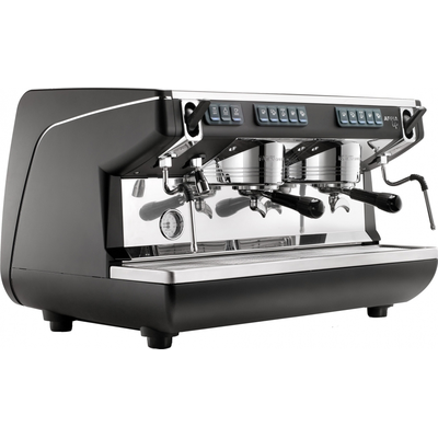 Кофемашина-автомат Nuova Simonelli Appia LIFE 2gr V 220V black+low groups+economizer