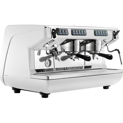 Кофемашина-автомат Nuova Simonelli Appia Life 2gr V 220V white+high groups+economizer
