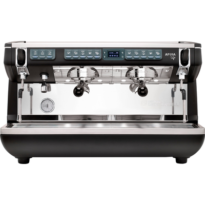 Кофемашина-автомат Nuova Simonelli Appia Life XT 2gr 220V black+high groups