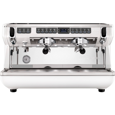 Кофемашина-автомат Nuova Simonelli Appia Life XT 2gr 220V white +high groups+easy cream+economizer