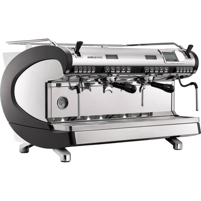 Кофемашина-автомат Nuova Simonelli Aurelia WAVE T3 2Gr 220V black+high groups+Autopurge