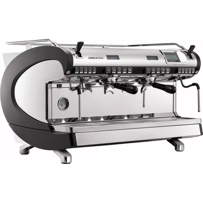 Кофемашина-автомат Nuova Simonelli Aurelia WAVE T3 2Gr 380V black+Autopurge+Easy Cream+high groups