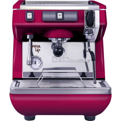 Кофемашина-полуавтомат Nuova Simonelli Appia LIFE 1gr S 220V red+high groups