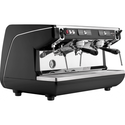 Кофемашина-полуавтомат Nuova Simonelli Appia Life 2gr S 220V black+high groups+economizer
