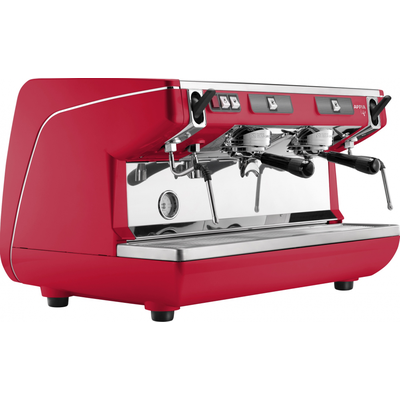 Кофемашина-полуавтомат Nuova Simonelli Appia Life 2gr S 220V red+high groups+economizer