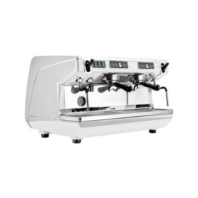 Кофемашина-полуавтомат Nuova Simonelli Appia Life 2gr S 220V white+high groups+economizer