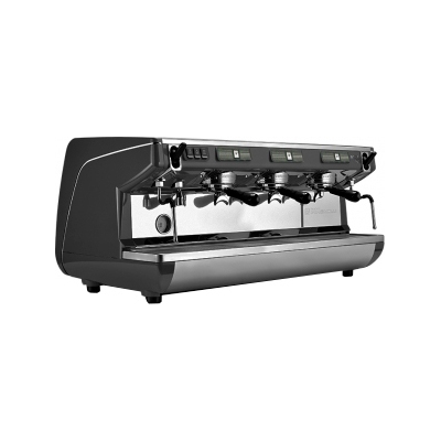 Кофемашина-полуавтомат Nuova Simonelli Appia LIFE 3gr S 220V black+high groups+economizer